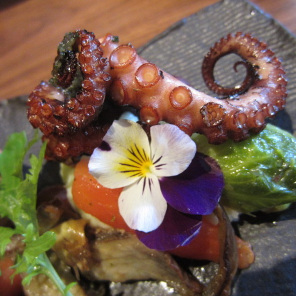 Grilled Baby Octopus - Mr. Robata, New York, NY
