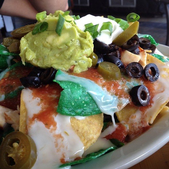 Nachos with Chicken - Shore Bird Restaurant & Beach Bar, Honolulu, HI