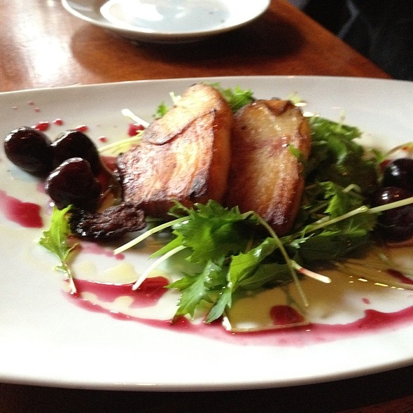 Roasted Pork Belly - Stumbling Goat Bar and Bistro, Seattle, WA
