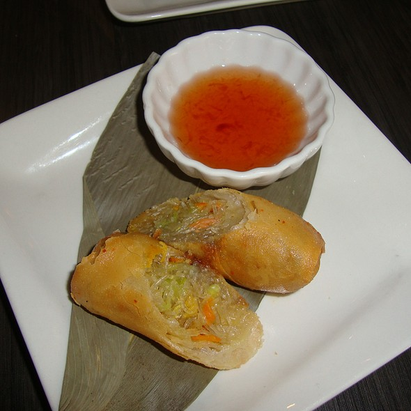 Fried Veggie Spring Roll - BLU - Restaurant & Lounge, Sugar Land, TX