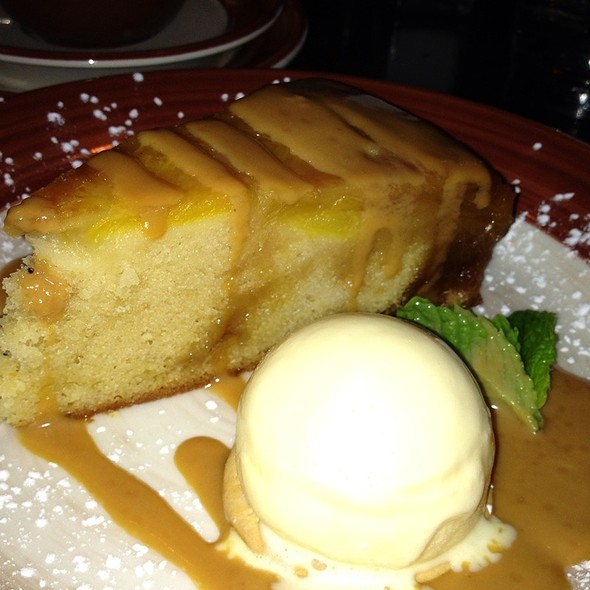 pineapple upside-down cake - Adobo Grill - Downtown Indianapolis, Indianapolis, IN