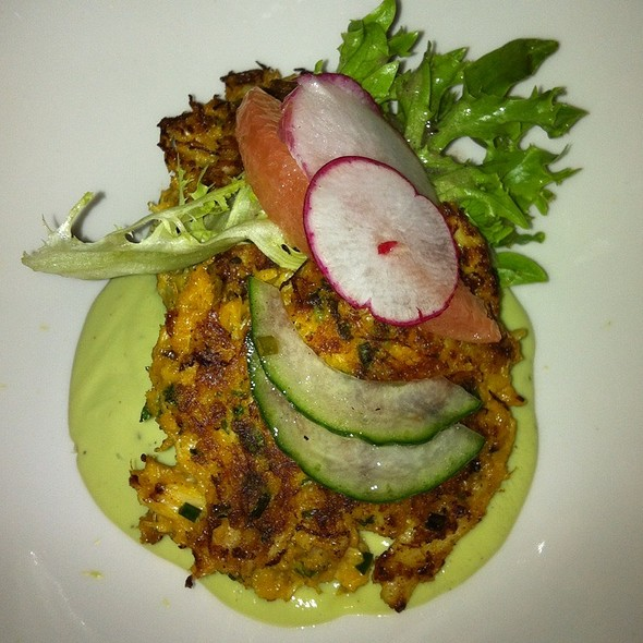 Curried Crab Cakes - Bard & Banker, Victoria, BC
