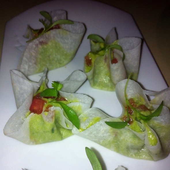 Jicama Wrapped Guacamole - The Bazaar by José Andrés, Los Angeles, CA