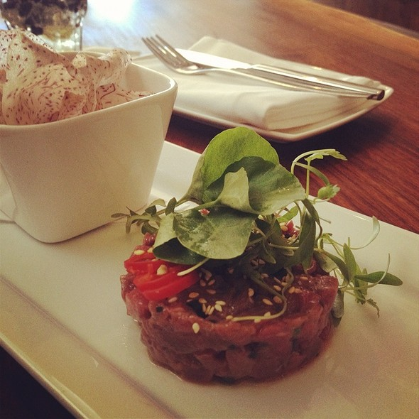 Bison Tartare - Salt Wine Bar, Toronto, ON