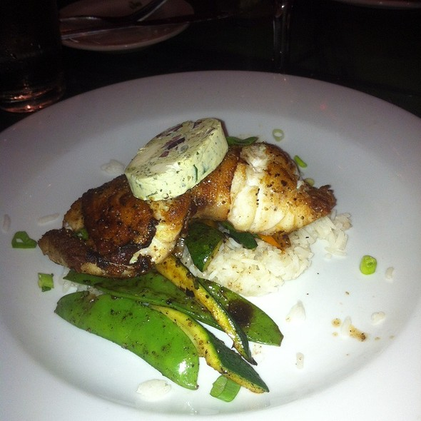 Bacon Wrapped Grouper - 22 North, Wrightsville Beach, NC