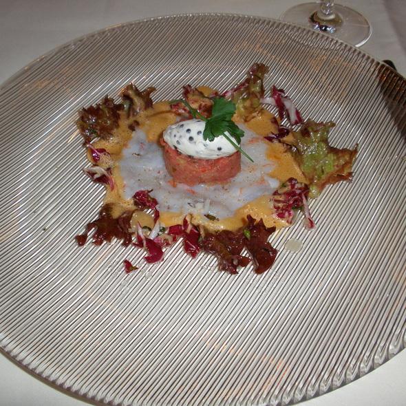Carpaccio of Langoustines, Veal Tartare - Palace St. George - Gourmetrestaurant, Mönchengladbach, NW