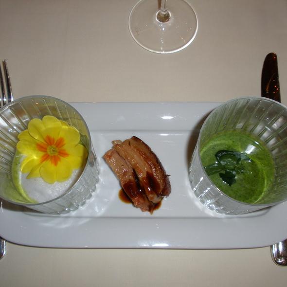 Cress Soup - Palace St. George - Gourmetrestaurant, Mönchengladbach, NW
