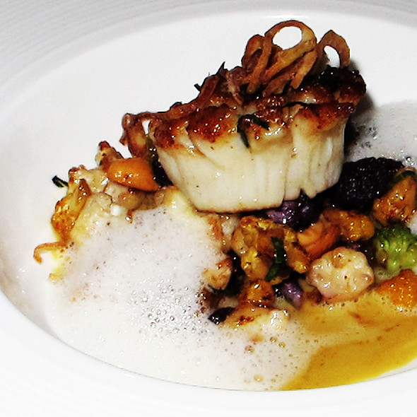 Seared Diver Scallop - VITAE, New York, NY