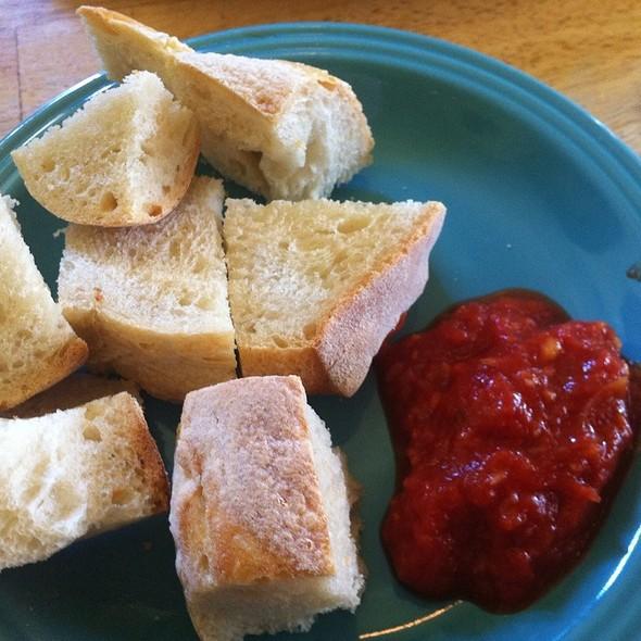 Fresh Bread With Arrabiatta  - Paciarino, Portland, ME