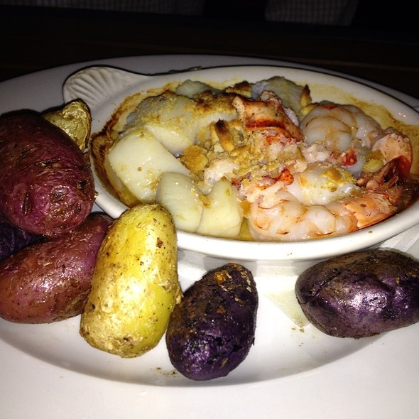 Seafood Casserole - Granary Tavern, Boston, MA