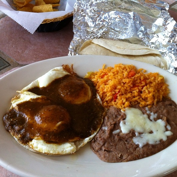 Huevos rancheros - La Torre Mexican Grill, Bloomington, IN