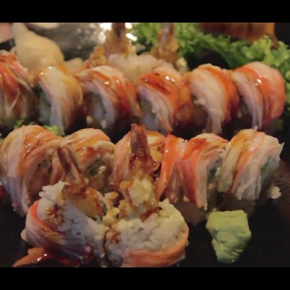 Wasabi Stinger Sushi Roll - Hiro 88 - Old Market, Omaha, NE