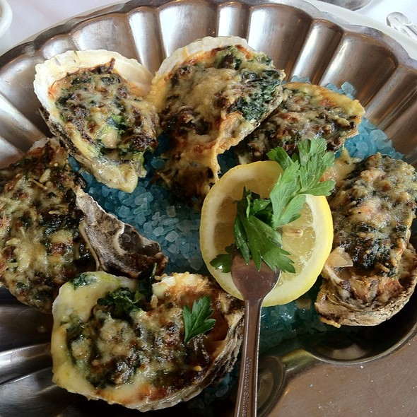 Oysters Rockerfeller  - Chart House Restaurant - Daytona Beach, Daytona Beach, FL
