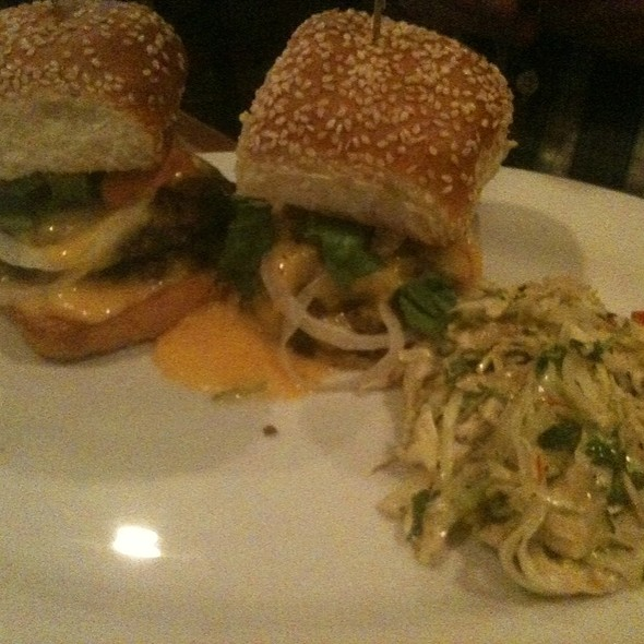 Sliders - Rex's American Grill and Bar, Steamboat Springs, CO