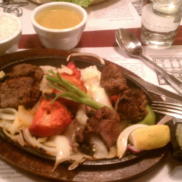 Combination Sizzler - Sherpa House Restaurant, Golden, CO