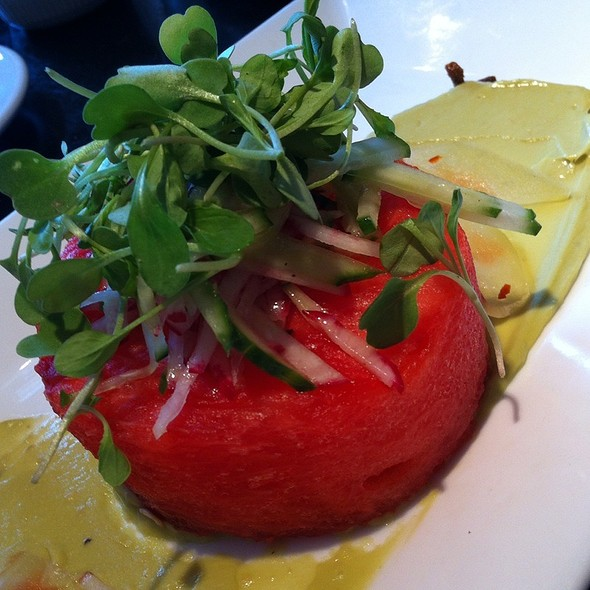 Watermelon Salad - Paolo's Ristorante - Georgetown, Washington, DC