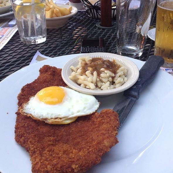 Wiener Schnitzel A La Holstein - Otto's Restaurant, Horsham, PA