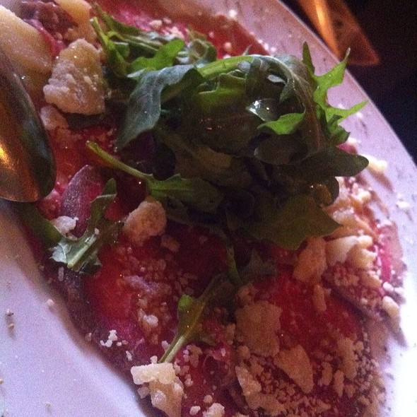 Beef Carpaccio - Cafe D'Antonio - Celebration, Celebration, FL
