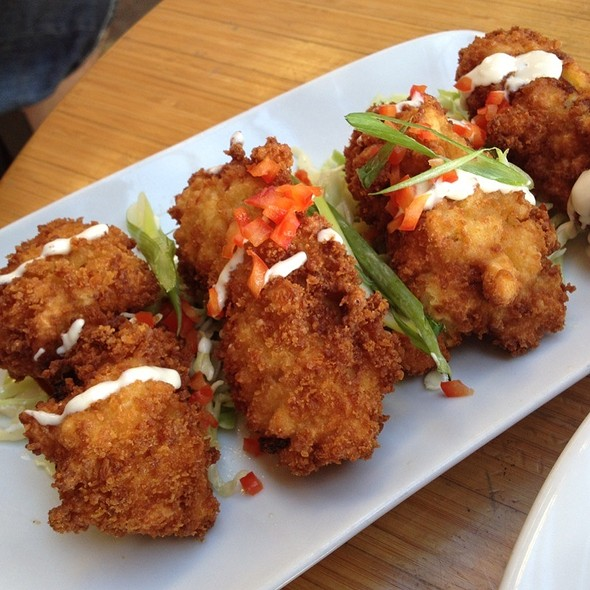 fried oysters - The Boathouse at Kits Beach, Vancouver, BC