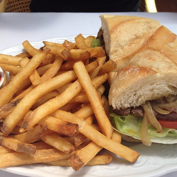 Grilled Sirloin Steak Sandwich - Bistro Garden at Coldwater, Studio City, CA