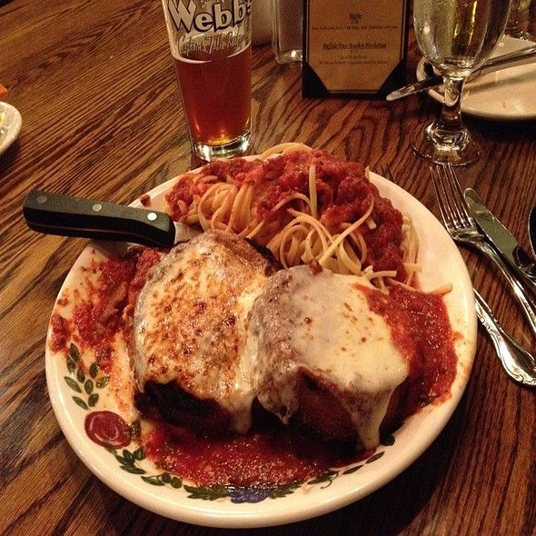 Eggplant Parmesan  - Webb's Captain's Table, Mayville, NY