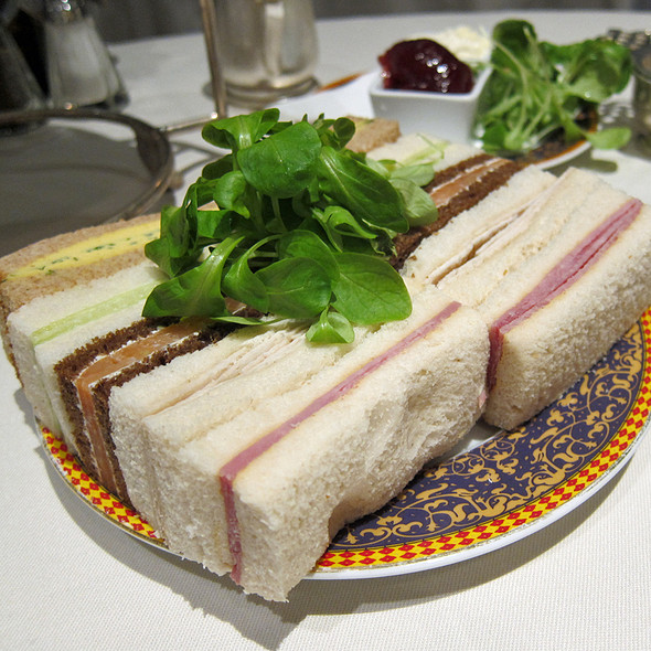 Tea Sandwiches - The Carlyle Restaurant, New York, NY