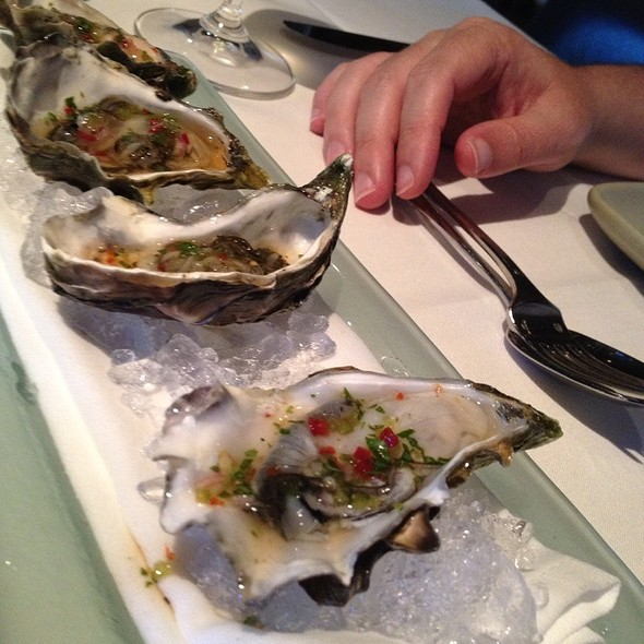 Oysters - Picco Restaurant, Larkspur, CA
