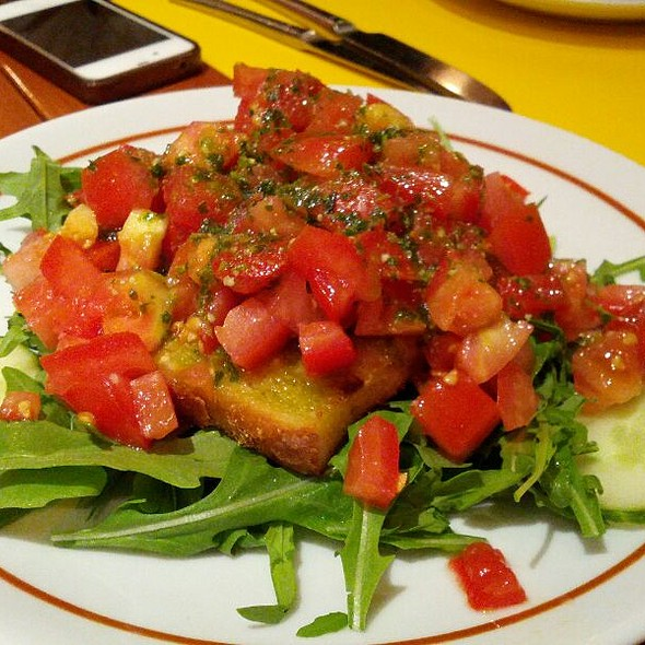 Bruschetta - Delfino Restaurant, London