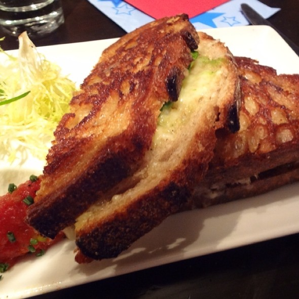 Grilled Cheese - Jasper's Corner Tap and Kitchen, San Francisco, CA