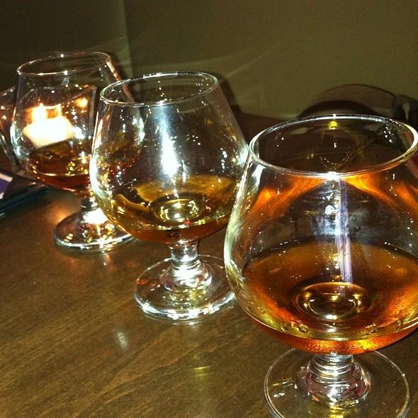 Rum flight - Zafra Cuban Restaurant & Rum Bar, New Haven, CT