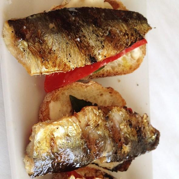 Grilled Sardines - Noah's, Greenport, NY