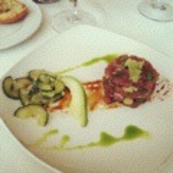 Tuna Tartare with Avocado - Battery Gardens, New York, NY