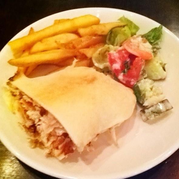 Chicken Shawarma Sandwich - Lebanese Taverna - Tysons Galleria, McLean, VA