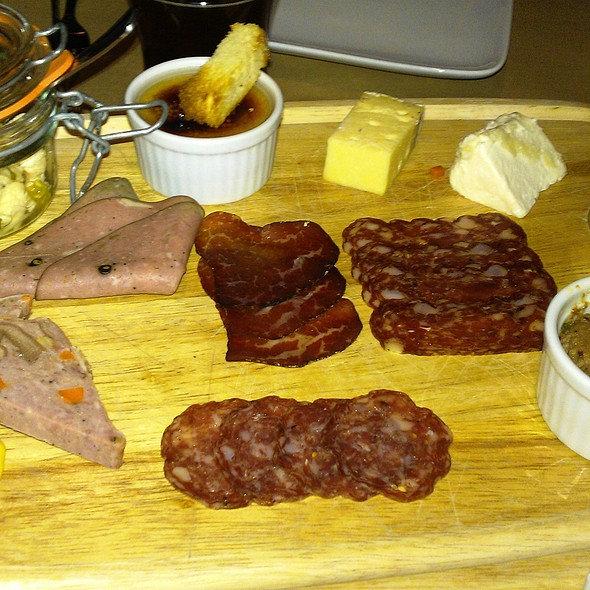 House-made Charcuterie And Artisan Cheese Board - The Ravenous Pig: An American Gastropub, Winter Park, FL