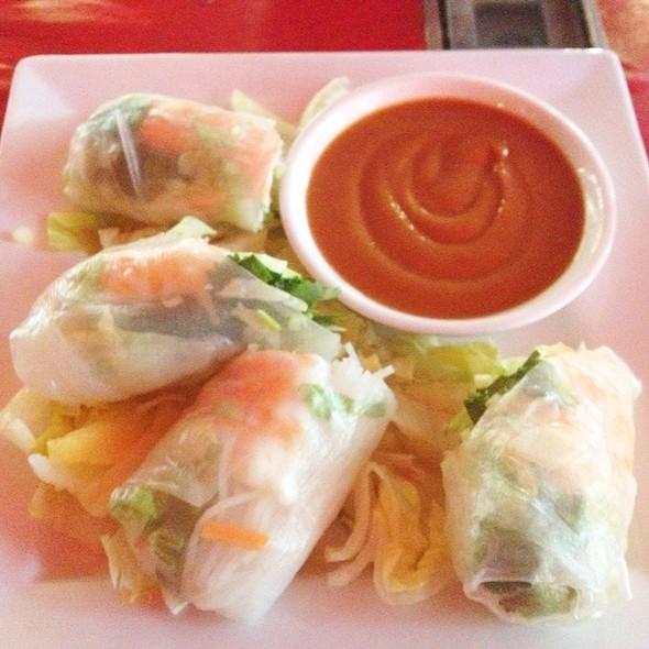 Vietnamese Summer Rolls - Ping by Charlie Chiang's, Arlington, VA