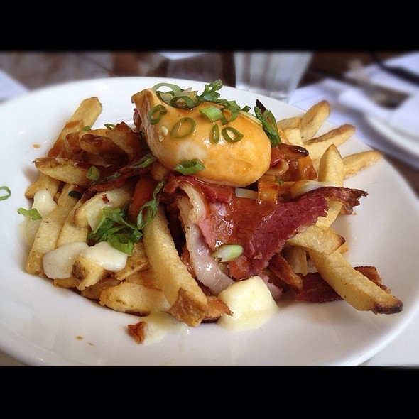 Breakfast Poutine - Tableau Bar Bistro, Vancouver, BC