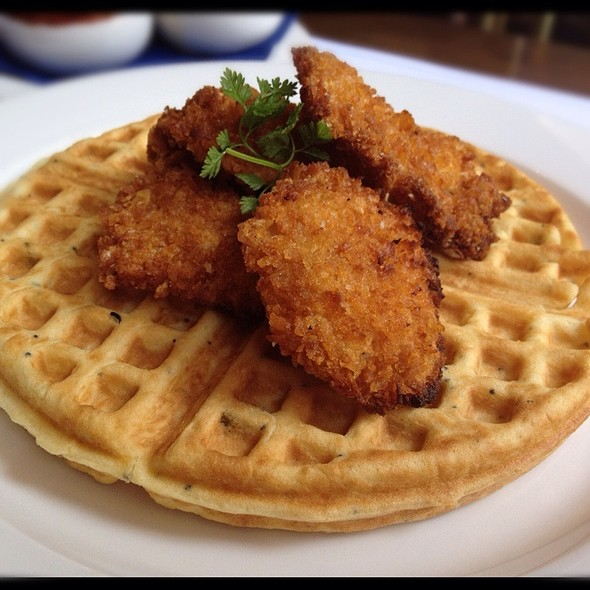 Chicken and Waffles - Tableau Bar Bistro, Vancouver, BC