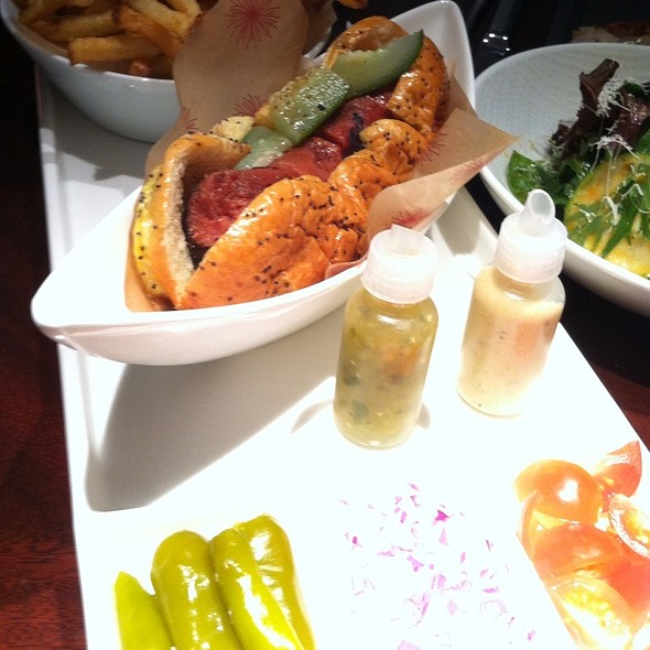 Chicago Style Hot Dog - Allium, Chicago, IL