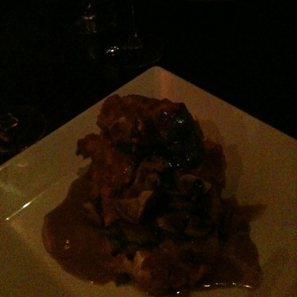 Chicken Picatta - Orzo Kitchen & Wine Bar, Charlottesville, VA