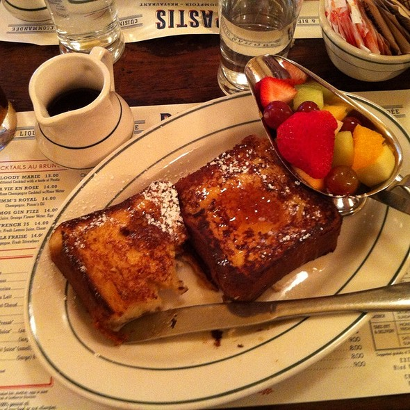 brioche french toast - Pastis, New York, NY