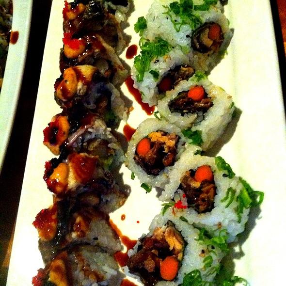 Salmon Skin Sriracha Roll & PING Roll - Ping by Charlie Chiang's, Arlington, VA
