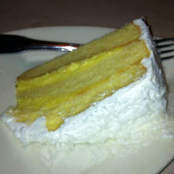 Coconut Cake - Leone's Restaurant, Springfield, MA