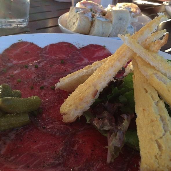 Beef Carpaccio - Clinkerdagger, Spokane, WA