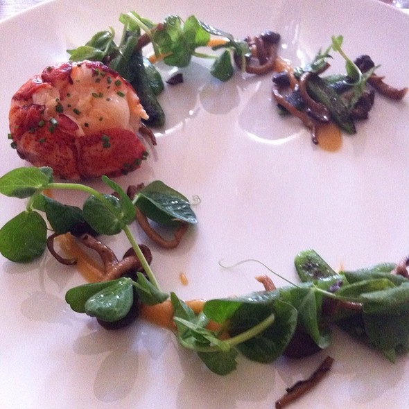Lobster With White Peach And Peas - Mica, Philadelphia, PA