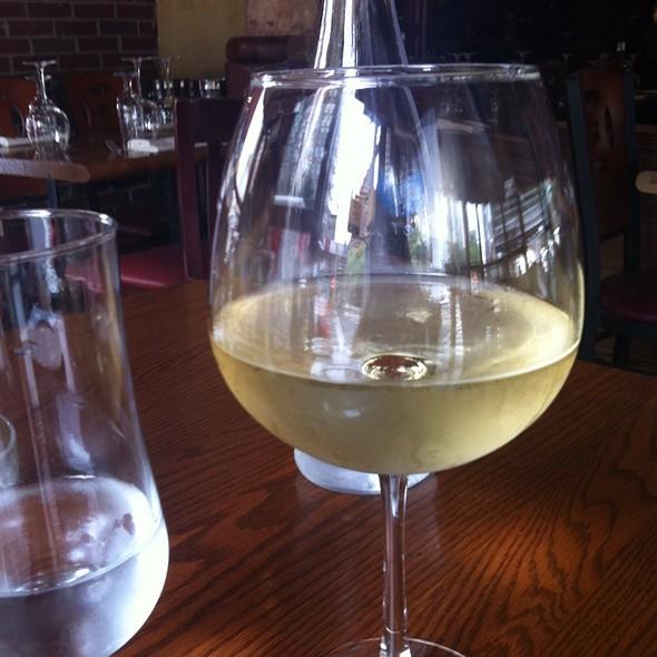 Chardonnay & Sparkling Water - A La Turka Restaurant, New York, NY