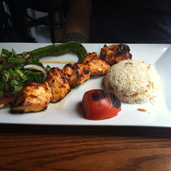 Chicken Kebab - A La Turka Restaurant, New York, NY