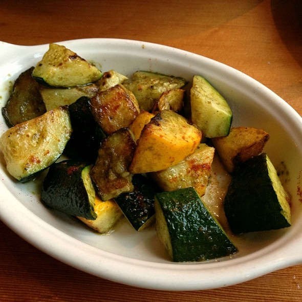 Roasted Squash, Basil, Lemon, Pimenton - Ned Ludd, Portland, OR