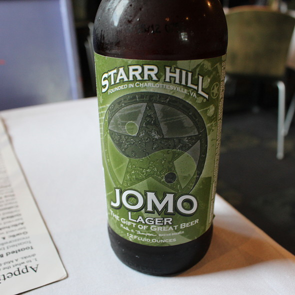 Starr Hill Jomo Lager - Croc's 19th Street Bistro, Virginia Beach, VA