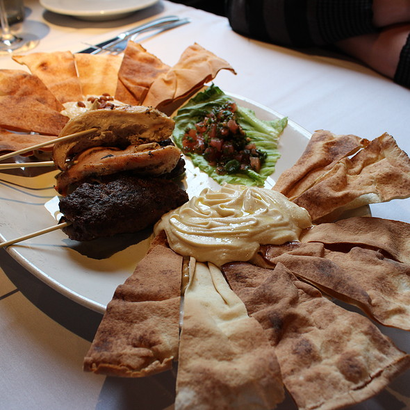 Mezze Sampler - Croc's 19th Street Bistro, Virginia Beach, VA
