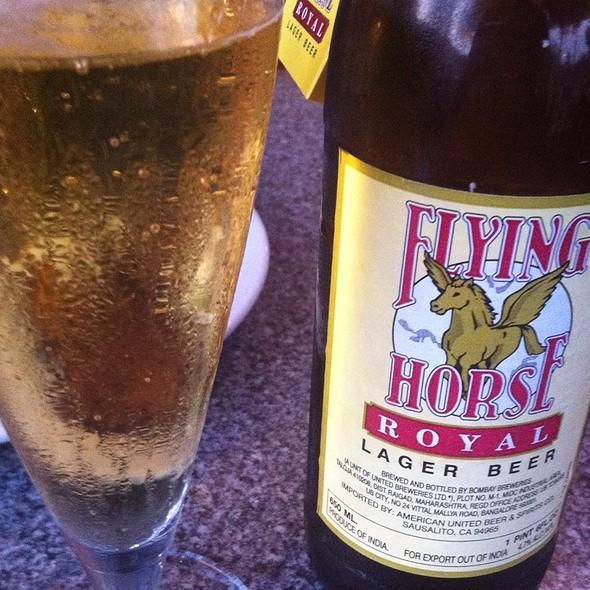 Flying Horse Beer - Himalayan Sherpa Kitchen, St. Helena, CA